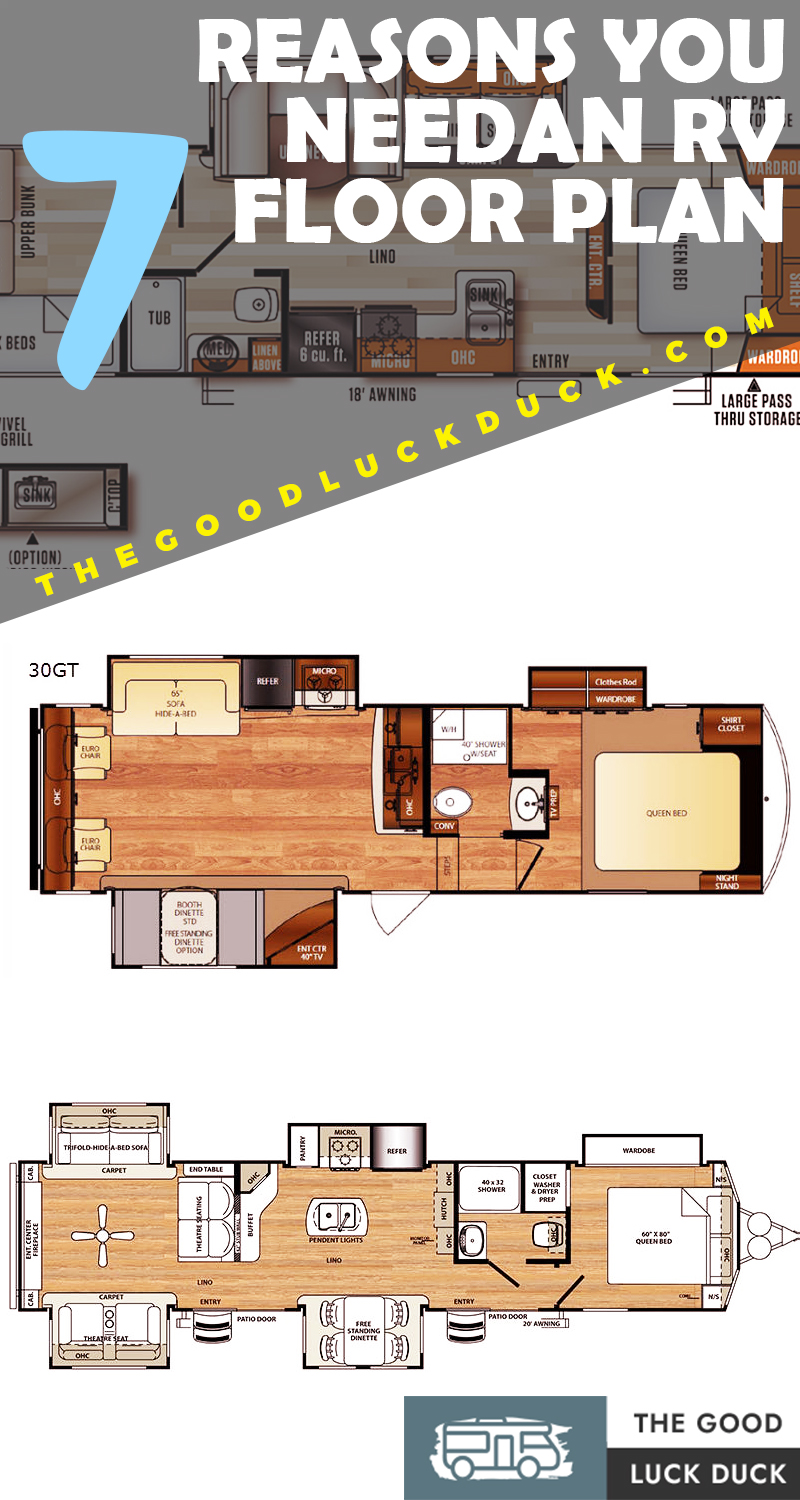 30 Timeless Rv Floor Plans Ideas How To Choose The Best One