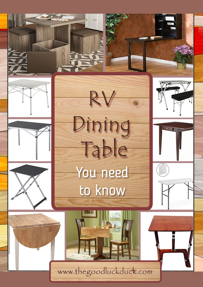20 Rv Dining Table 2020 Best Ideas Choices The Good Luck Duck